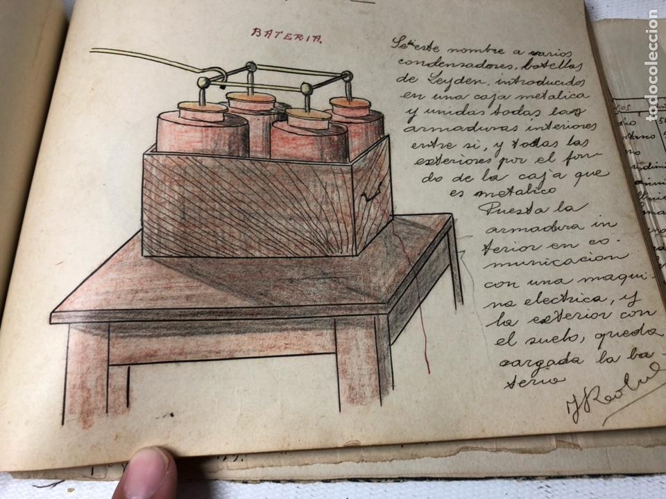 Documentos antiguos: MANUSCRITO DE MECANICA Y FISICA CON 394 EJERCICIOS REALIZADOS ,AÑOS 40..50 - Foto 60 - 122815215