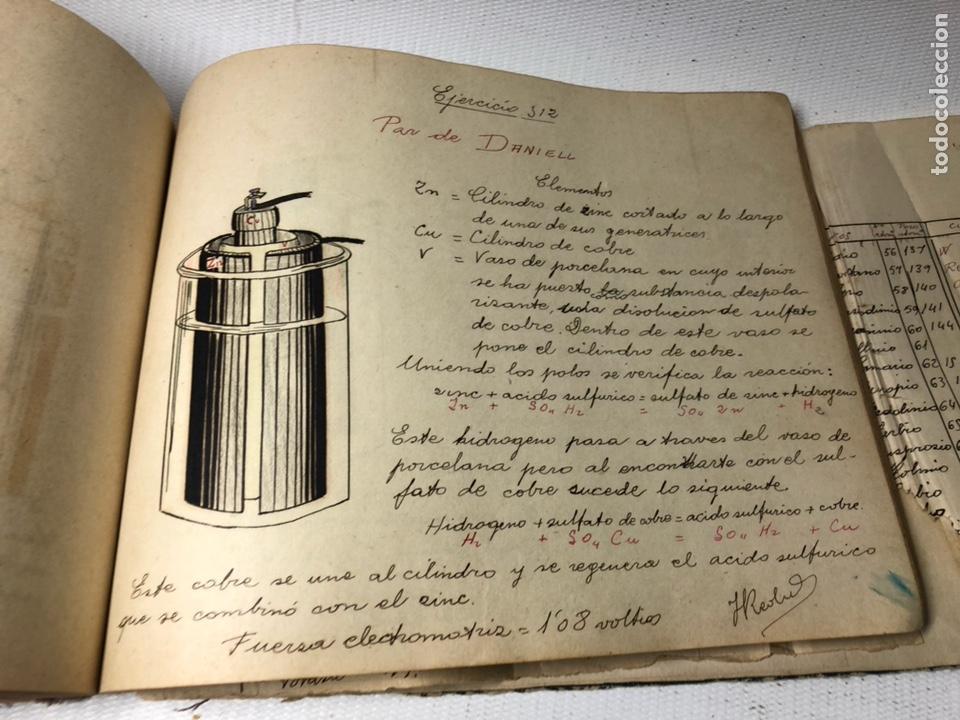 Documentos antiguos: MANUSCRITO DE MECANICA Y FISICA CON 394 EJERCICIOS REALIZADOS ,AÑOS 40..50 - Foto 63 - 122815215