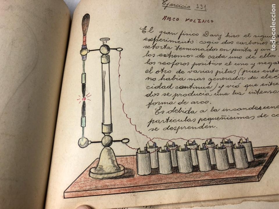 Documentos antiguos: MANUSCRITO DE MECANICA Y FISICA CON 394 EJERCICIOS REALIZADOS ,AÑOS 40..50 - Foto 64 - 122815215