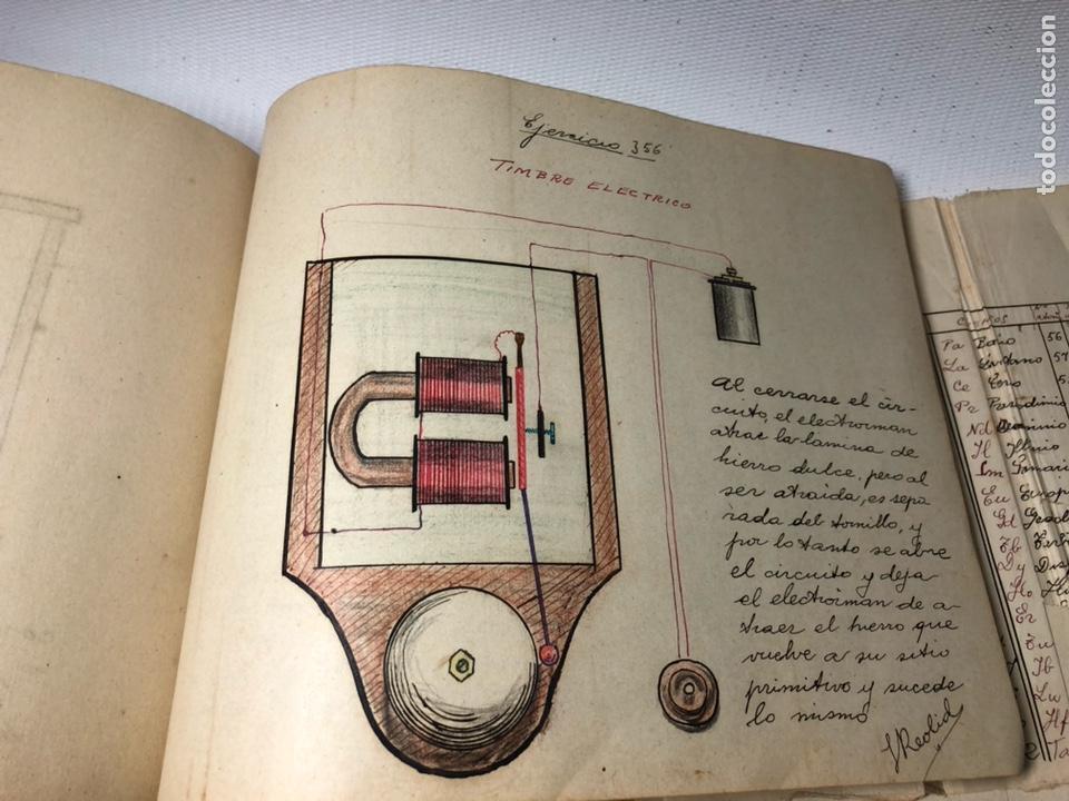 Documentos antiguos: MANUSCRITO DE MECANICA Y FISICA CON 394 EJERCICIOS REALIZADOS ,AÑOS 40..50 - Foto 66 - 122815215