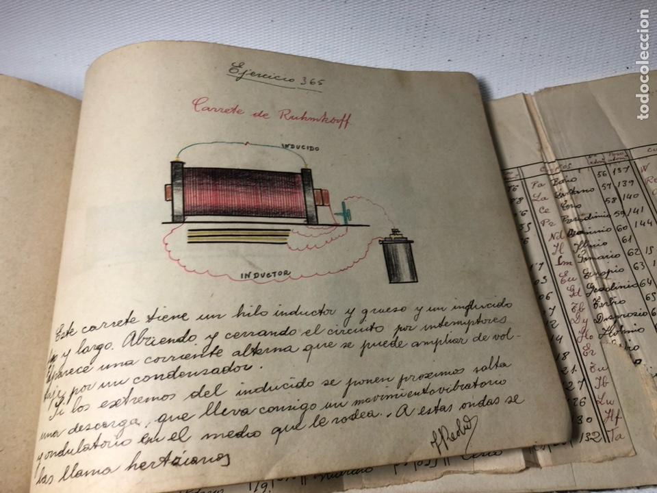 Documentos antiguos: MANUSCRITO DE MECANICA Y FISICA CON 394 EJERCICIOS REALIZADOS ,AÑOS 40..50 - Foto 67 - 122815215