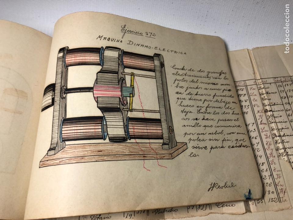 Documentos antiguos: MANUSCRITO DE MECANICA Y FISICA CON 394 EJERCICIOS REALIZADOS ,AÑOS 40..50 - Foto 68 - 122815215
