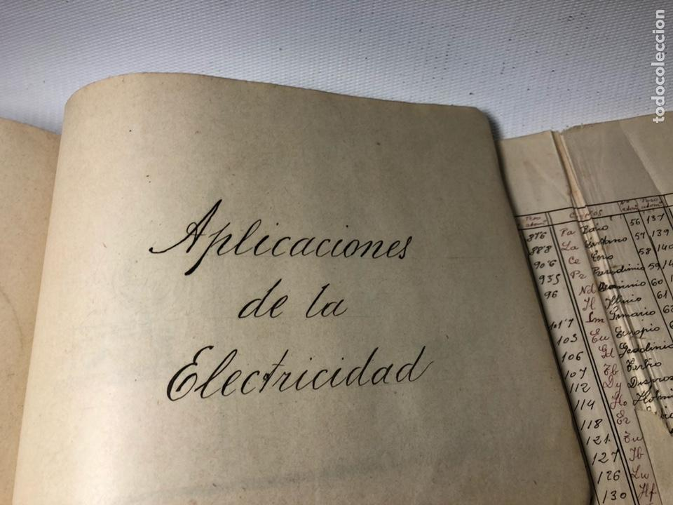 Documentos antiguos: MANUSCRITO DE MECANICA Y FISICA CON 394 EJERCICIOS REALIZADOS ,AÑOS 40..50 - Foto 69 - 122815215