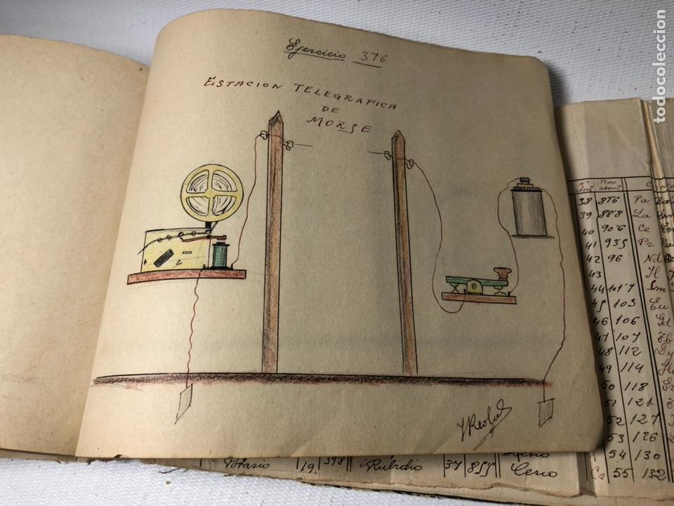 Documentos antiguos: MANUSCRITO DE MECANICA Y FISICA CON 394 EJERCICIOS REALIZADOS ,AÑOS 40..50 - Foto 70 - 122815215