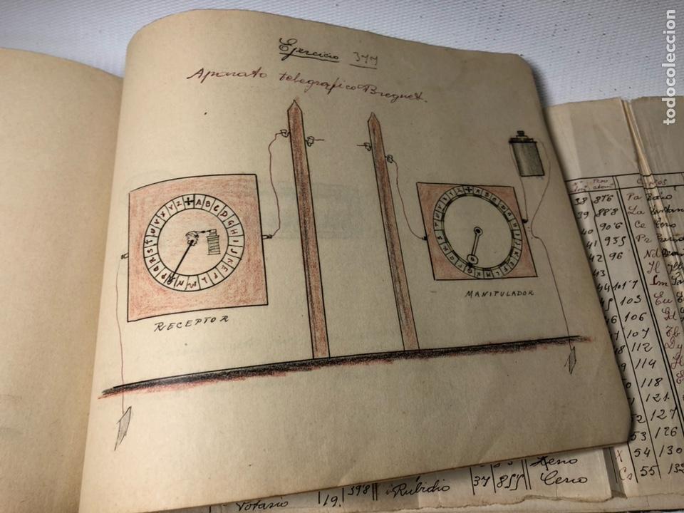 Documentos antiguos: MANUSCRITO DE MECANICA Y FISICA CON 394 EJERCICIOS REALIZADOS ,AÑOS 40..50 - Foto 71 - 122815215