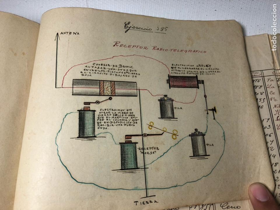 Documentos antiguos: MANUSCRITO DE MECANICA Y FISICA CON 394 EJERCICIOS REALIZADOS ,AÑOS 40..50 - Foto 72 - 122815215