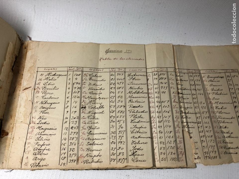 Documentos antiguos: MANUSCRITO DE MECANICA Y FISICA CON 394 EJERCICIOS REALIZADOS ,AÑOS 40..50 - Foto 73 - 122815215