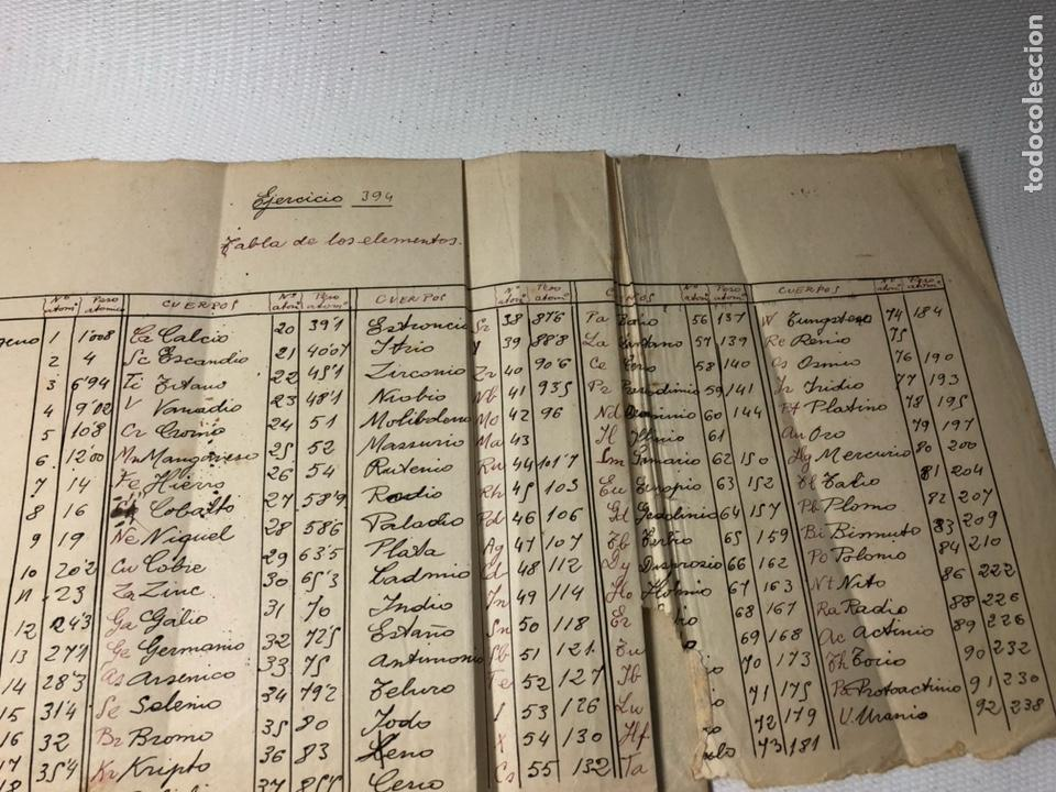 Documentos antiguos: MANUSCRITO DE MECANICA Y FISICA CON 394 EJERCICIOS REALIZADOS ,AÑOS 40..50 - Foto 74 - 122815215