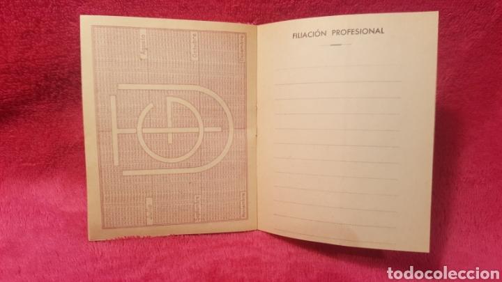 Documentos antiguos: Carnet de los estatutos de la Unión General de Trabajadores Madrid+ Carnet de federado - Foto 11 - 122974188