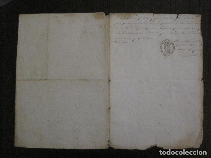 Documentos antiguos: TRIBUNAL SUPREMO DE SANIDAD- LITORAL PONTIFICIO MEDITERRANEO-AÑO 1857 -VER FOTOS-(V-14.781) - Foto 8 - 123384751