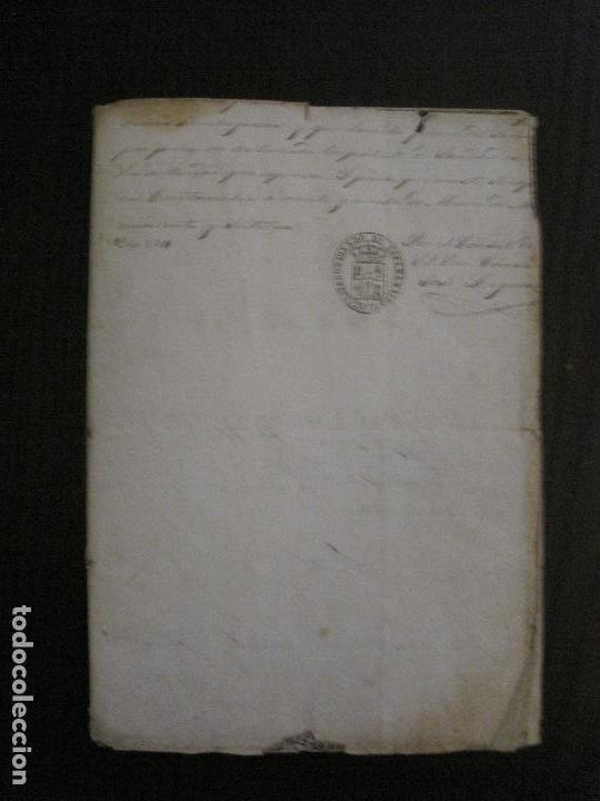 Documentos antiguos: TRIBUNAL SUPREMO DE SANIDAD- LITORAL PONTIFICIO MEDITERRANEO-AÑO 1857 -VER FOTOS-(V-14.781) - Foto 9 - 123384751