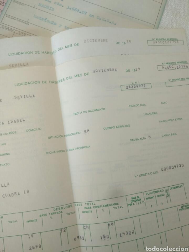 Documentos antiguos: RECIBOS.MATRICULA EJERCISIO PRESUPUESTARIO ETC VER FOTO AÑOS 70.CAJA AHORRO UNIVERSIDAD NACIONAL - Foto 4 - 123586934