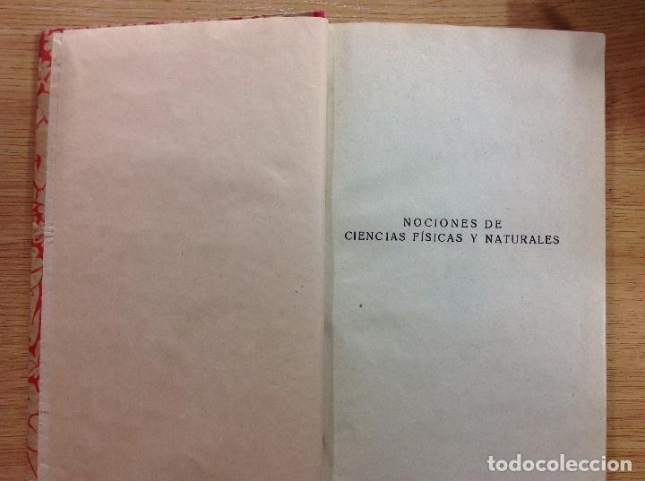 NOCIONES DE CIENCIAS FÍSICAS Y NATURALES - EDELVIVES (Coleccionismo - Documentos - Otros documentos)