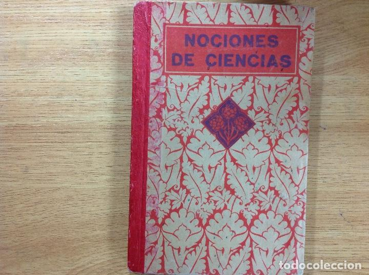 Documentos antiguos: NOCIONES DE CIENCIAS FÍSICAS Y NATURALES - EDELVIVES - Foto 2 - 123805923