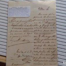 Documentos antiguos: SOLICITAR LICENCIA PARA CONTRAER MATRIMONIO.. Lote 124481091