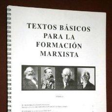 Documentos antiguos: RECOPILACIÓN DE TEXTOS BÁSICOS PARA LA FORMACIÓN MARXISTA / FASCÍCULO DE FOTOCOPIAS S/F. Lote 124613783