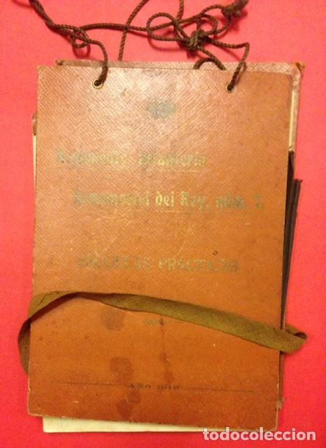 REGIMIENTO DE INFANTERIA INMEMORIAL DEL REY Nº 1 ESCUELAS PRACTICAS 1916 (Coleccionismo - Documentos - Otros documentos)