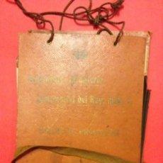 Documentos antiguos: REGIMIENTO DE INFANTERIA INMEMORIAL DEL REY Nº 1 ESCUELAS PRACTICAS 1916. Lote 125417479