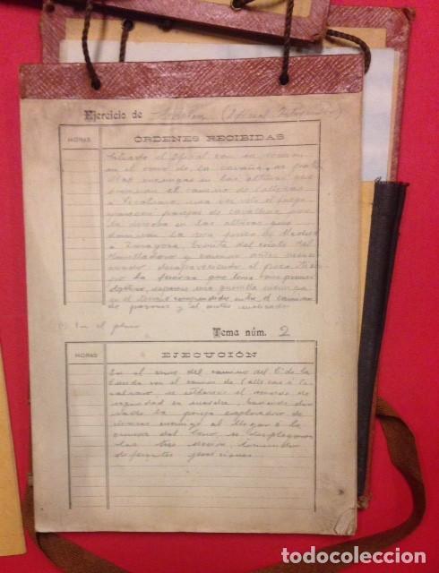 Documentos antiguos: REGIMIENTO DE INFANTERIA INMEMORIAL DEL REY Nº 1 ESCUELAS PRACTICAS 1916 - Foto 2 - 125417479