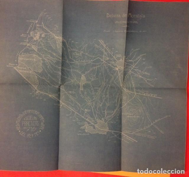Documentos antiguos: REGIMIENTO DE INFANTERIA INMEMORIAL DEL REY Nº 1 ESCUELAS PRACTICAS 1916 - Foto 3 - 125417479