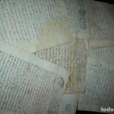 Documentos antiguos: MURCIA, CIEZA, VARIOS DOCUMENTOS COMPRA VENTA Y OTROS AÑOS 1742, 1771,1781,1819,1840 Y 1934.FOTOS. Lote 125973599