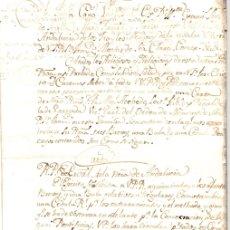 Documentos antiguos: BULA PAPAL RELATIVA A REGULARES Y CEDULA REAL PARA LA CONSERVACION DE GRACIAS PONTIFICAS. AÑO 1805. Lote 126009046