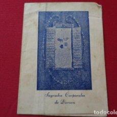 Documentos antiguos: DAROCA. ZARAGOZA. SAGRADOS CORPORALES DE DAROCA.. Lote 126055879