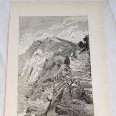 Documentos antiguos: GRABADO DE 1918 - RAS-EL-ABIAD - EXTRAÍDO DE LIBRO - 23,5X14,5CM. Lote 126571987