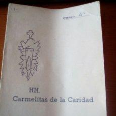 Documentos antiguos: CUADERNO CALIFICACIONES ALUMNO HERMANAS CARMELITAS DE LA CARIDAD, ALCOY- CURSO 4º. Lote 126888448