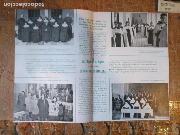 Documentos antiguos: 1960 xxxv aniversario de la coronacion canonica de la virgen del carmen de jerez (cadiz) y seminario - Foto 2 - 126904675