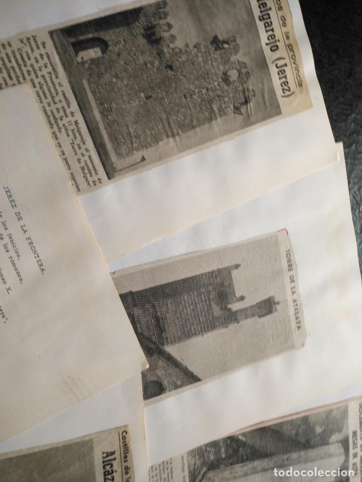 Documentos antiguos: COLECCION DOCUMENTACION PROVINCIA DE CADIZ POR PUEBLOS - JEREZ CON MAPA SANLUCAR ROTA PUERTO REAL . - Foto 3 - 128334955