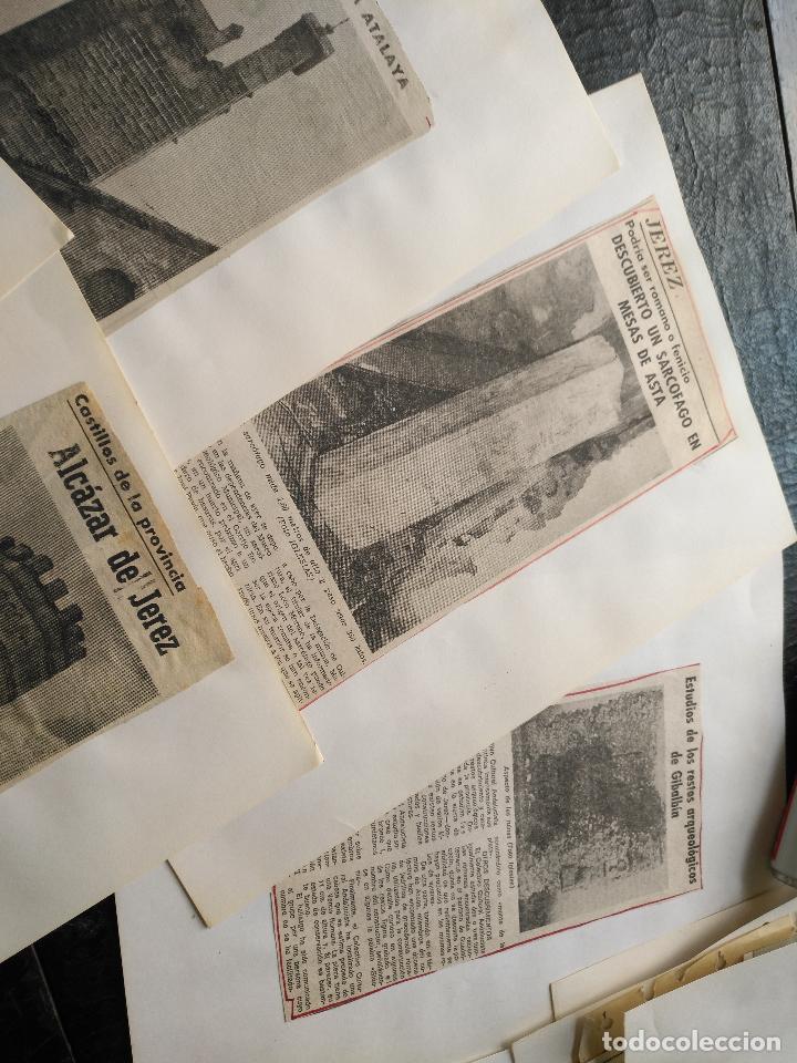 Documentos antiguos: COLECCION DOCUMENTACION PROVINCIA DE CADIZ POR PUEBLOS - JEREZ CON MAPA SANLUCAR ROTA PUERTO REAL . - Foto 4 - 128334955