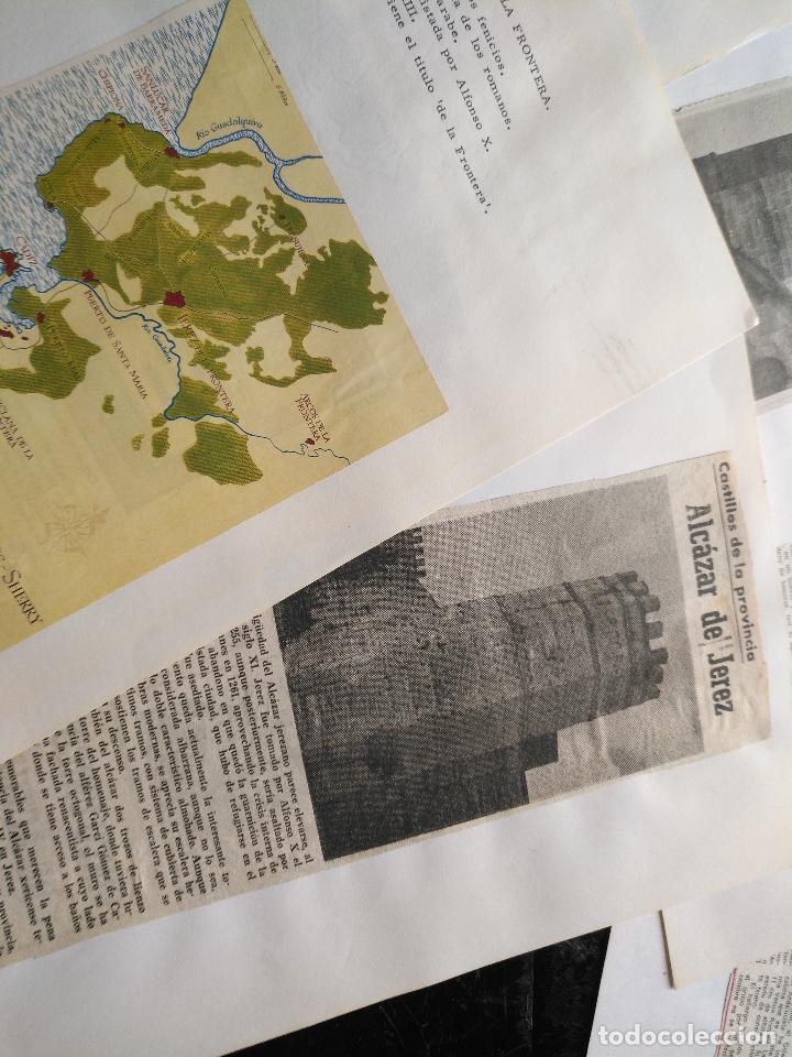 Documentos antiguos: COLECCION DOCUMENTACION PROVINCIA DE CADIZ POR PUEBLOS - JEREZ CON MAPA SANLUCAR ROTA PUERTO REAL . - Foto 6 - 128334955