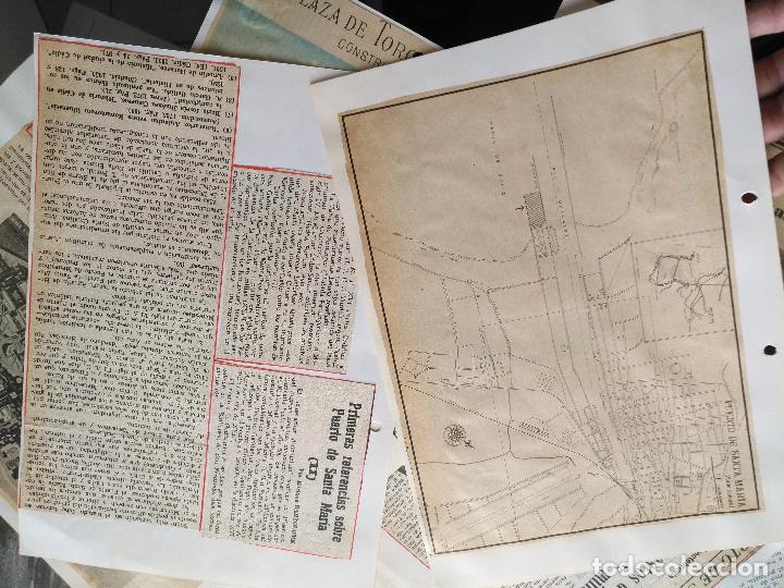 Documentos antiguos: COLECCION DOCUMENTACION PROVINCIA DE CADIZ POR PUEBLOS - EL PUERTO DE SANTA MARIA , CASTILLO .... - Foto 4 - 128335523