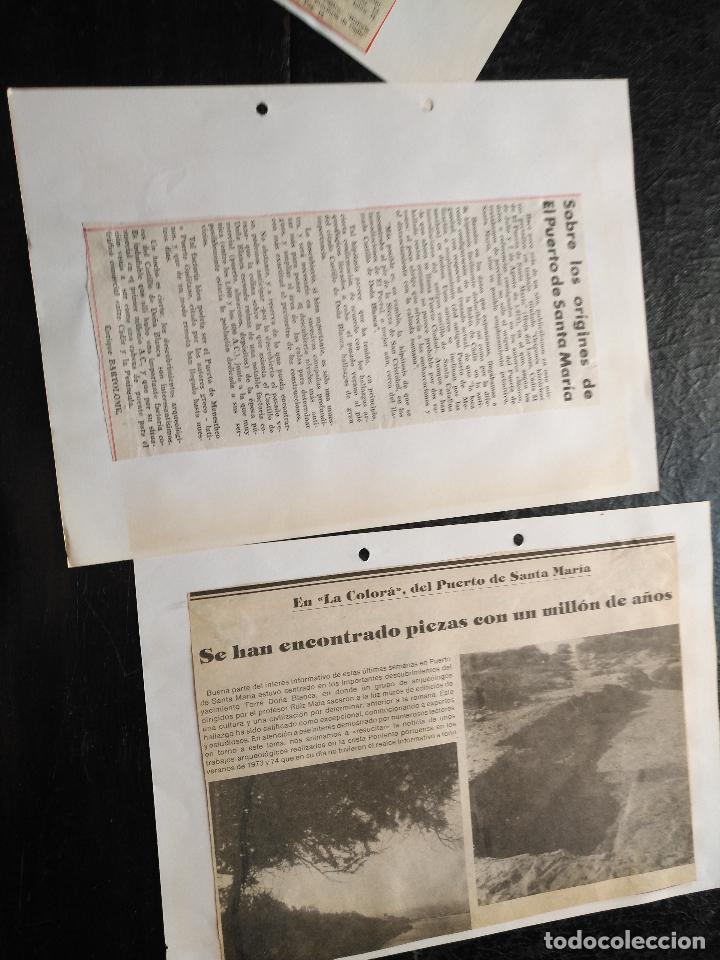 Documentos antiguos: COLECCION DOCUMENTACION PROVINCIA DE CADIZ POR PUEBLOS - EL PUERTO DE SANTA MARIA , CASTILLO .... - Foto 8 - 128335523