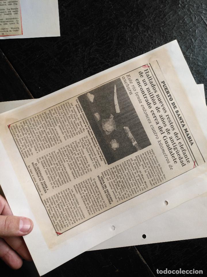 Documentos antiguos: COLECCION DOCUMENTACION PROVINCIA DE CADIZ POR PUEBLOS - EL PUERTO DE SANTA MARIA , CASTILLO .... - Foto 9 - 128335523