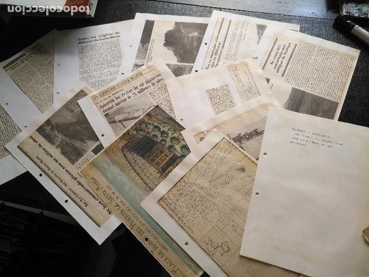 COLECCION DOCUMENTACION PROVINCIA DE CADIZ POR PUEBLOS - EL PUERTO DE SANTA MARIA , CASTILLO .... (Coleccionismo - Documentos - Otros documentos)