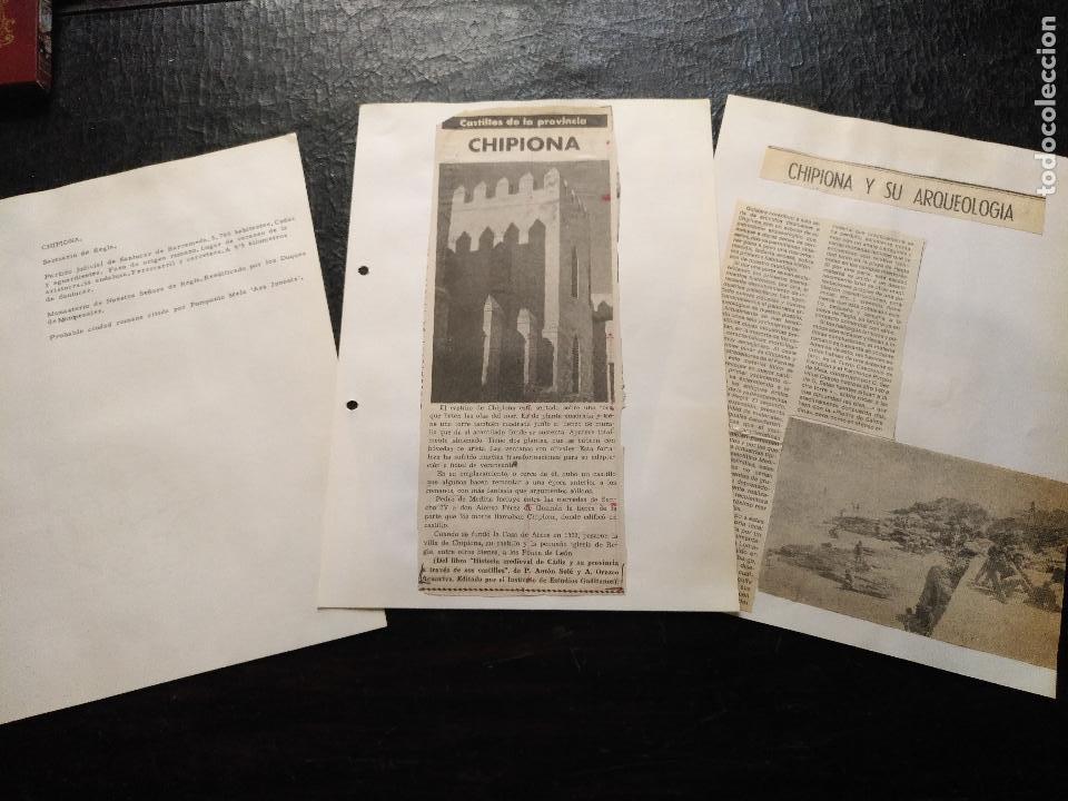 COLECCION DOCUMENTACION PROVINCIA DE CADIZ POR PUEBLOS - ALGECIRAS , GIBRALTAR Y PEÑON (Coleccionismo - Documentos - Otros documentos)