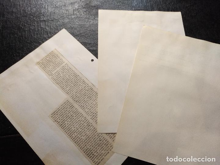 Documentos antiguos: COLECCION DOCUMENTACION PROVINCIA DE CADIZ POR PUEBLOS - algeciras , gibraltar y peñon - Foto 2 - 128366695