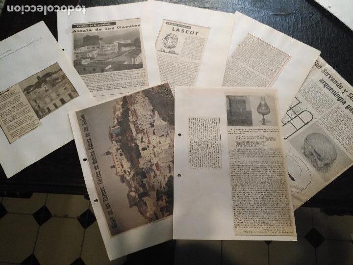 COLECCION DOCUMENTACION PROVINCIA DE CADIZ POR PUEBLOS - ALCALA DE LOS GAZULES (Coleccionismo - Documentos - Otros documentos)