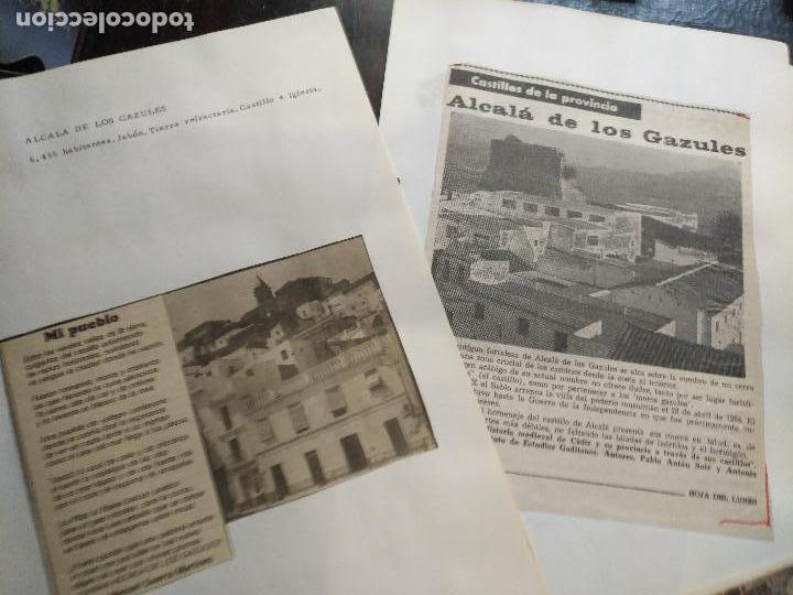 Documentos antiguos: COLECCION DOCUMENTACION PROVINCIA DE CADIZ POR PUEBLOS - alcala de los gazules - Foto 2 - 128369515