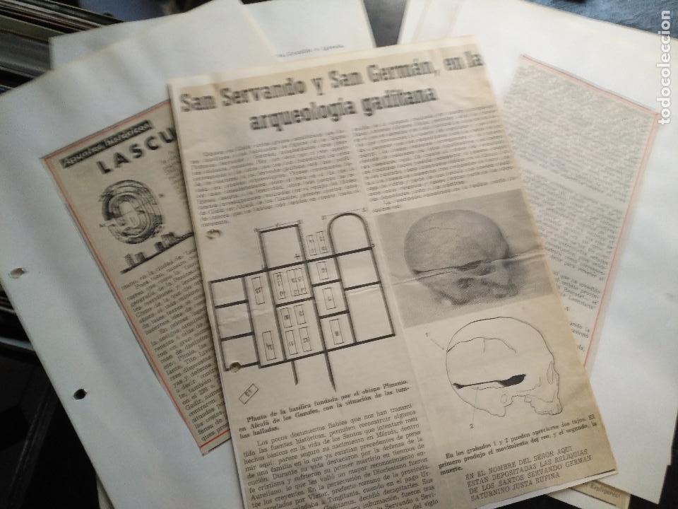 Documentos antiguos: COLECCION DOCUMENTACION PROVINCIA DE CADIZ POR PUEBLOS - alcala de los gazules - Foto 4 - 128369515