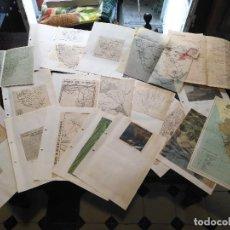 Documentos antiguos: COLECCION DOCUMENTACION PROVINCIA DE CADIZ POR PUEBLOS ESTE ES EL GENERAL CARRETERAS PLANOS CROQUIS. Lote 128373475