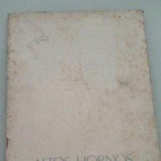 Documentos antiguos: ALTOS HORNOS DEL MEDITERRANEO. MEMORIA 1973. . Lote 128396919