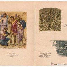 Documentos antiguos: LAS ARTES Y LA MEDICINA. ROMA. PUBLICIAD: PRODUCTOS ROCHE.. Lote 128807647