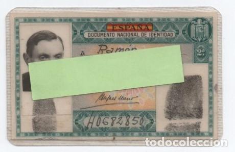 (ALB-TC-1) DNI DOCUMENTO NACIONAL DE IDENTIDAD VERDE EXPEDIDO LERIDA 1955 (Coleccionismo - Documentos - Otros documentos)