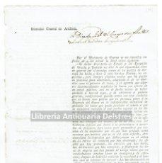 Documentos antiguos: FERNANDO VII. [GUERRA DE LA INDEPENDENCIA. GOBIERNO INTRUSO. 1812] . Lote 129055187