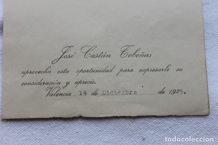 Documentos antiguos: UNIVERSIDAD DE VALENCIA, FACULTAD DE DERECHO. 1925 - Foto 3 - 129104835