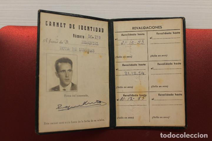 Documentos antiguos: CARNET STANDARD ELÉCTRICA SA, PIEL, 1953, TELÉFONOS, CABLES, 10X6,50 CM - Foto 2 - 129548247