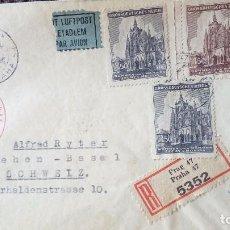 Documentos antiguos: SOBRE DE CARTA VACIO CON SELLOS ALEMANIA NAZI . Lote 131185428